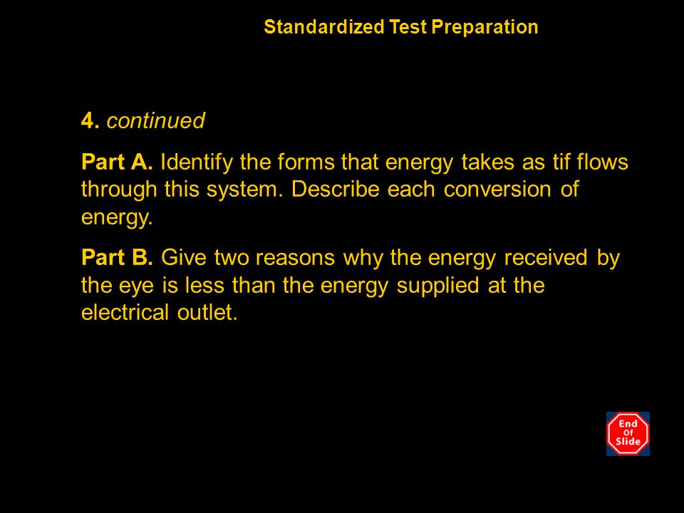 Chapter 10 Standardized Test Preparation. 4. continued.