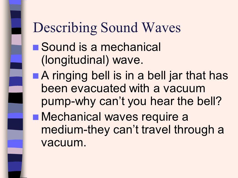 Describing Sound Waves
