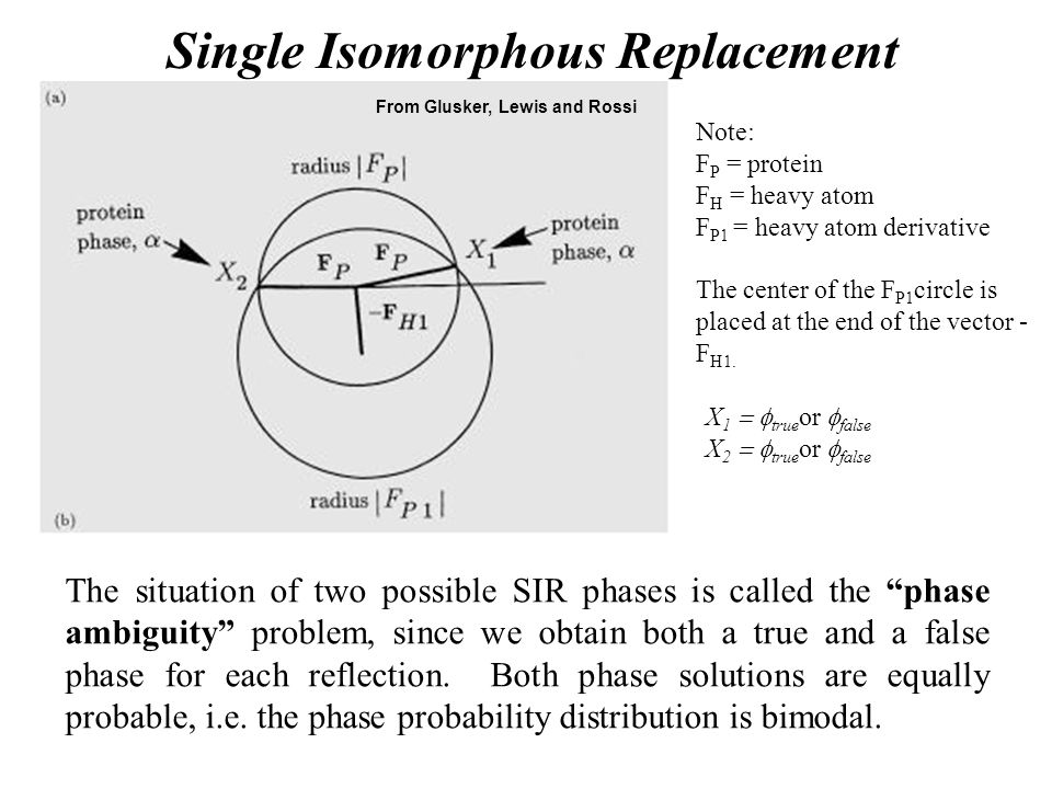 Single Isomorphous Replacement