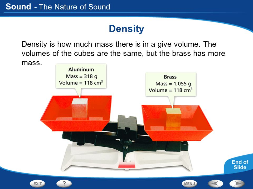 Density - The Nature of Sound