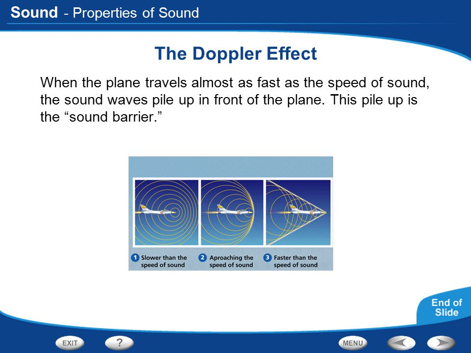The Doppler Effect - Properties of Sound