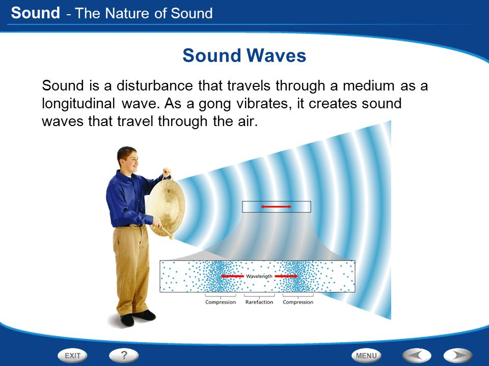 Sound Waves - The Nature of Sound