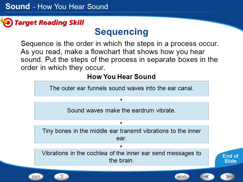 Sequencing - How You Hear Sound