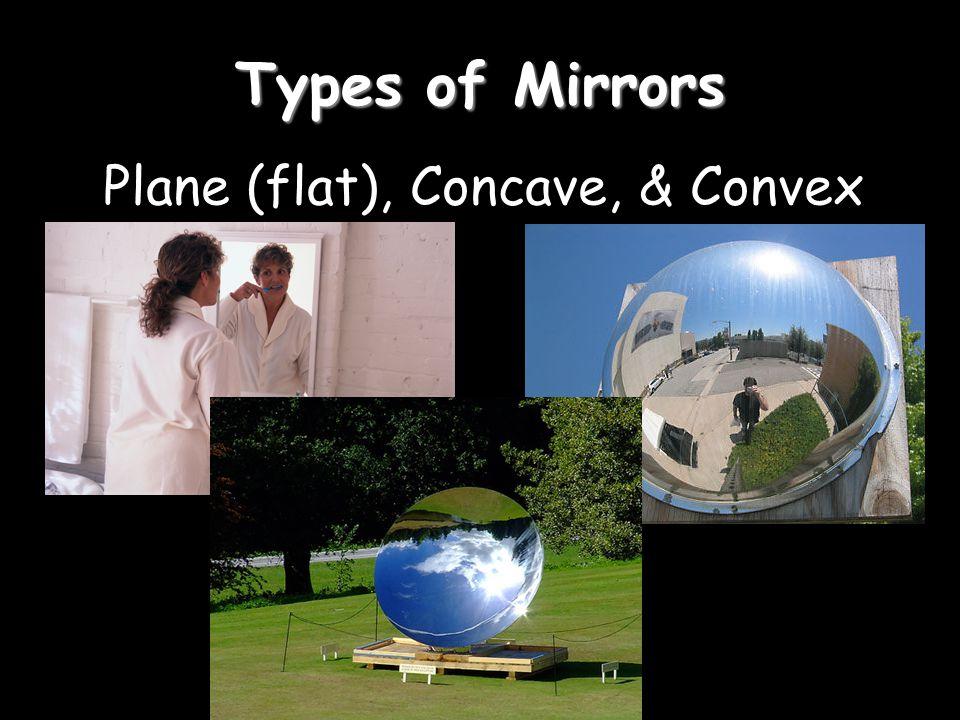 Plane (flat), Concave, & Convex
