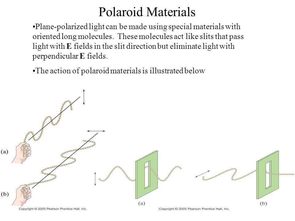 Polaroid Materials