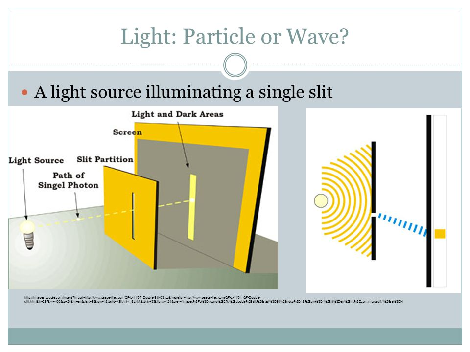 Light: Particle or Wave