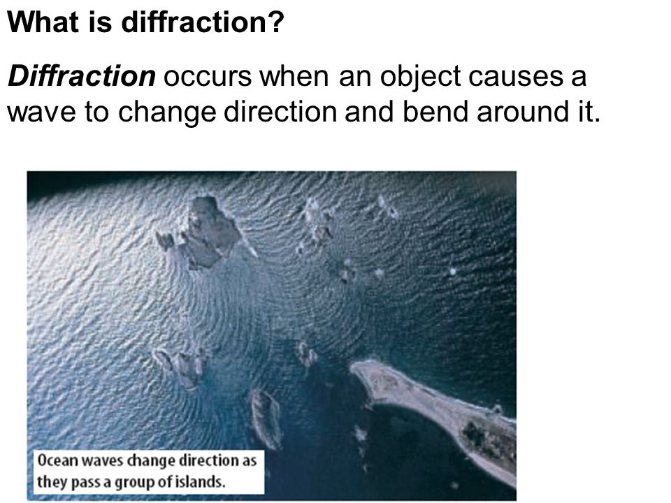 What is diffraction.