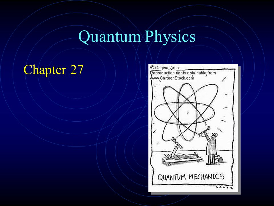 Quantum Physics Chapter 27