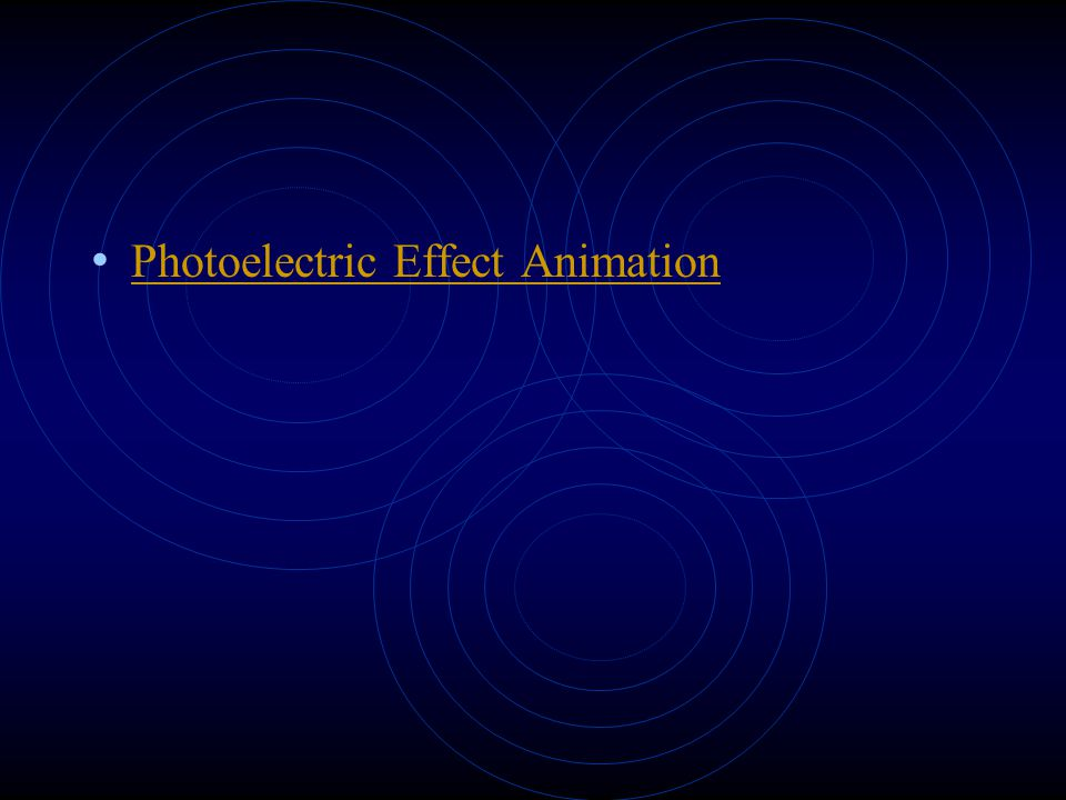 Photoelectric Effect Animation