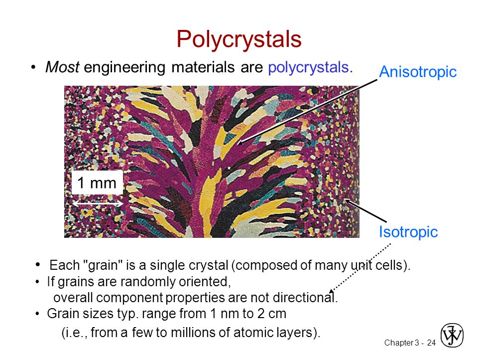 Polycrystals • Most engineering materials are polycrystals.