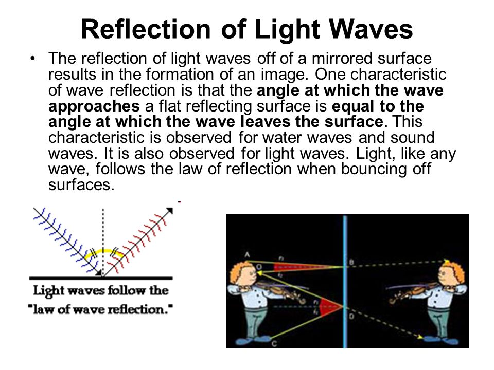 Reflection of Light Waves