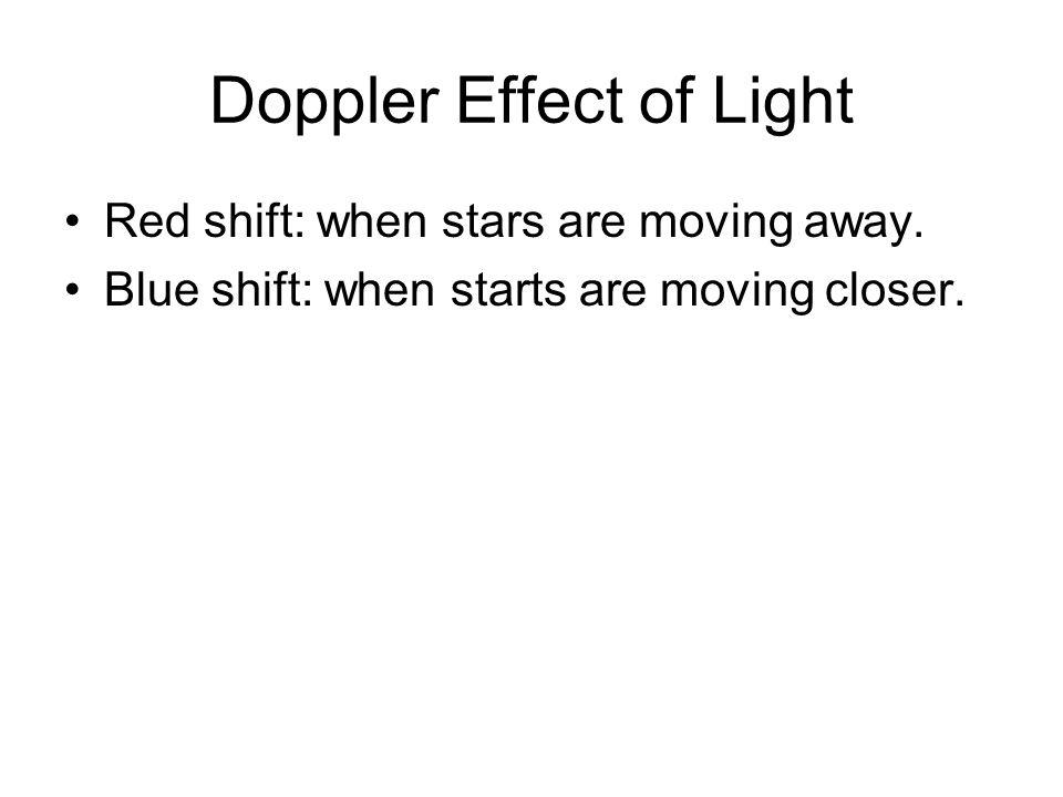 Doppler Effect of Light