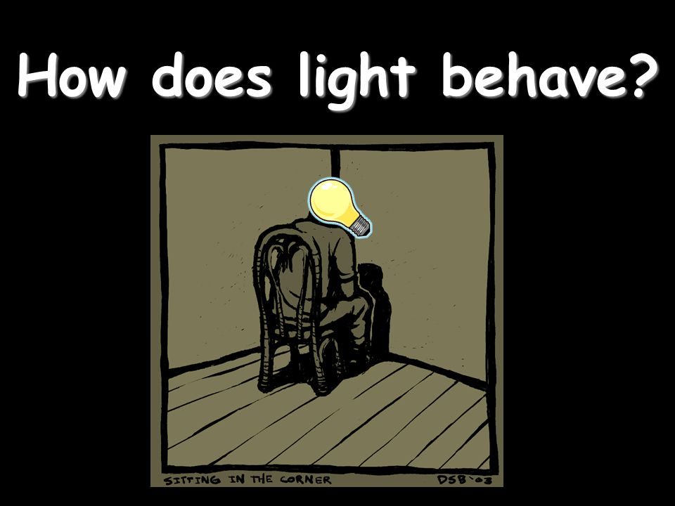 How does light behave