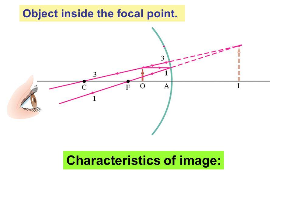 Characteristics of image: