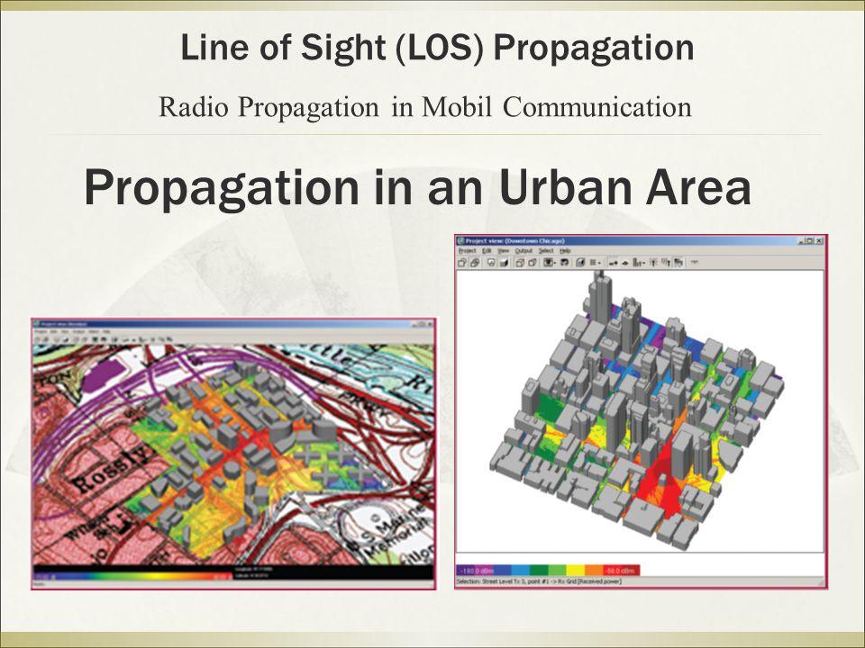 Propagation in an Urban Area
