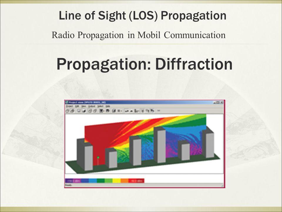 Propagation: Diffraction