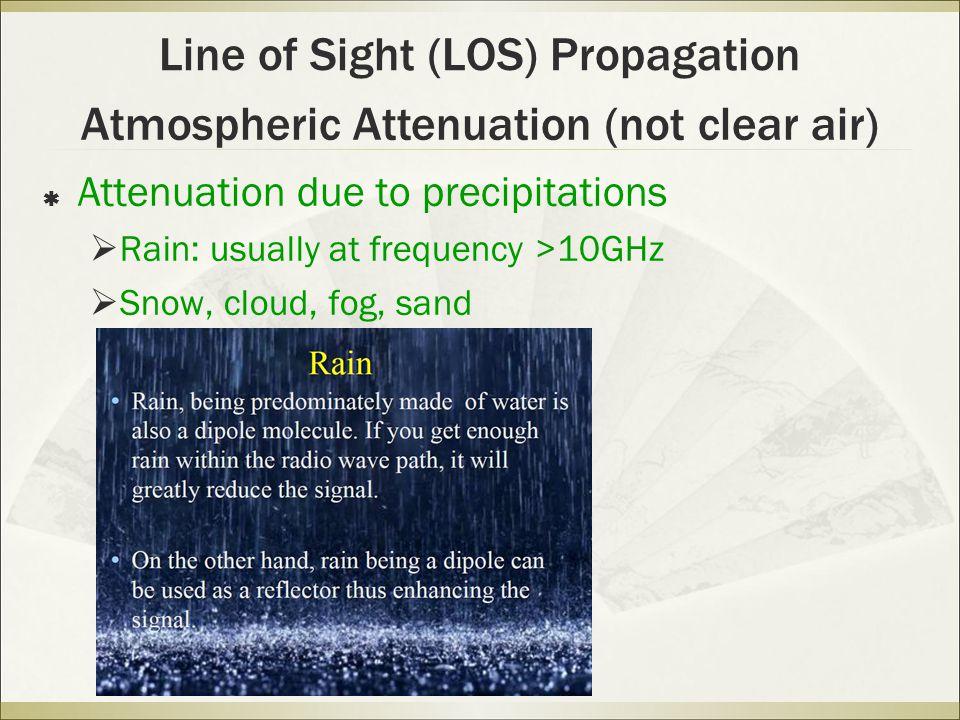 Line of Sight (LOS) Propagation