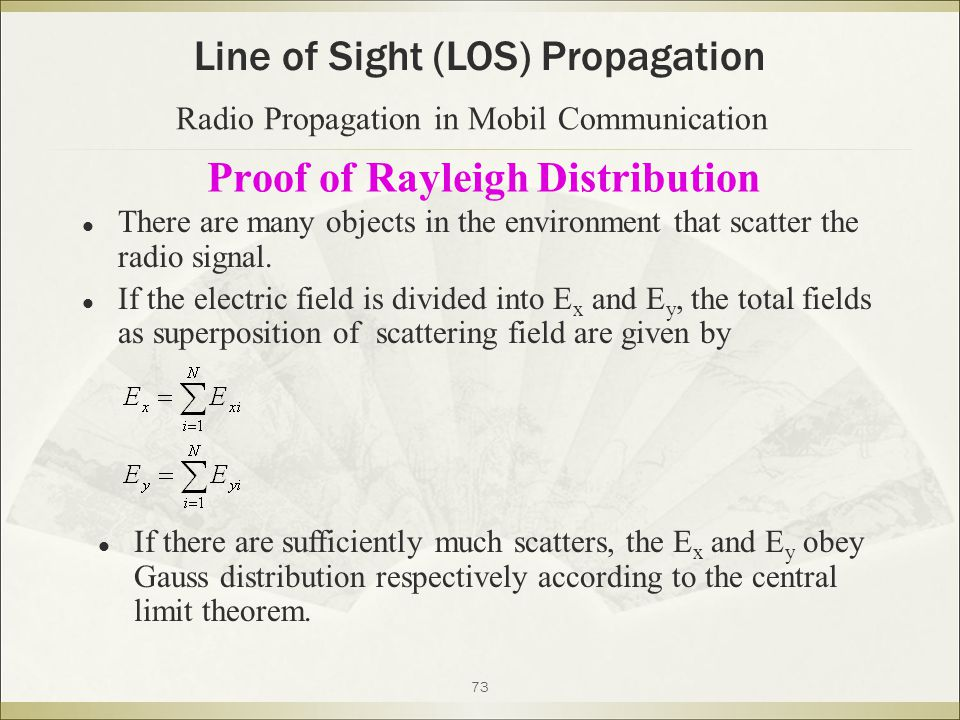 Proof of Rayleigh Distribution