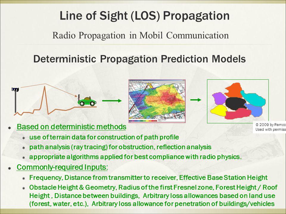 Deterministic Propagation Prediction Models