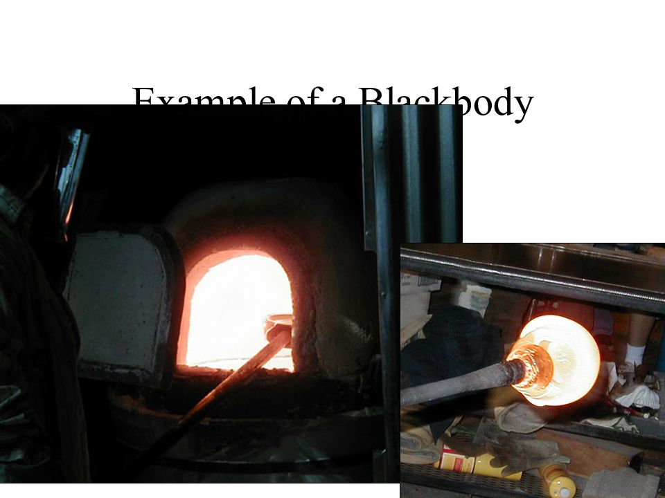 Example of a Blackbody A BLACKBODY