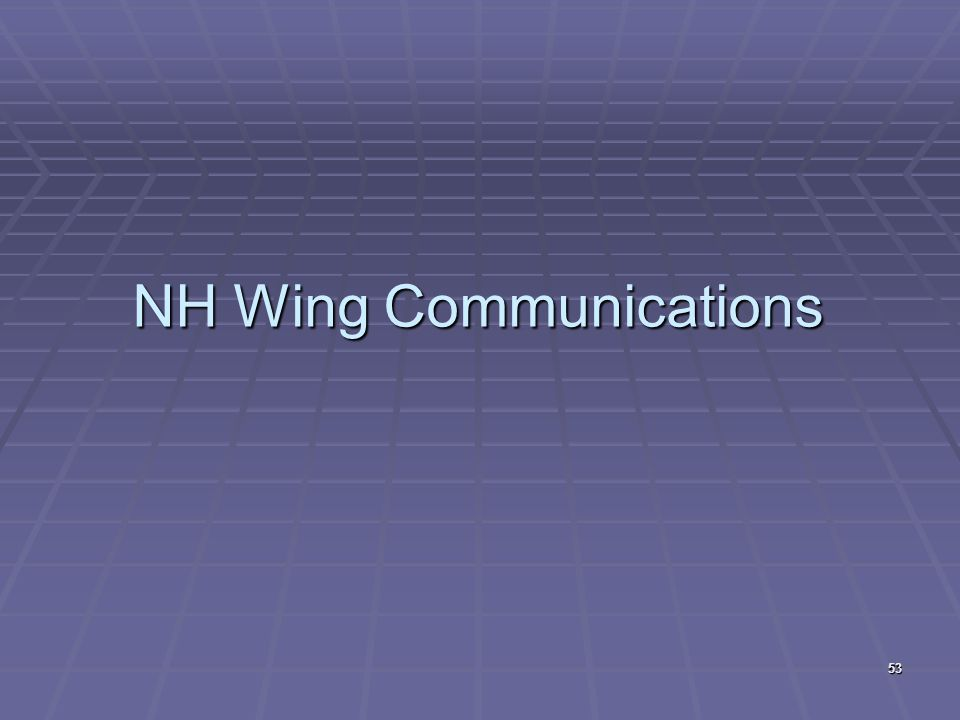 NH Wing Communications