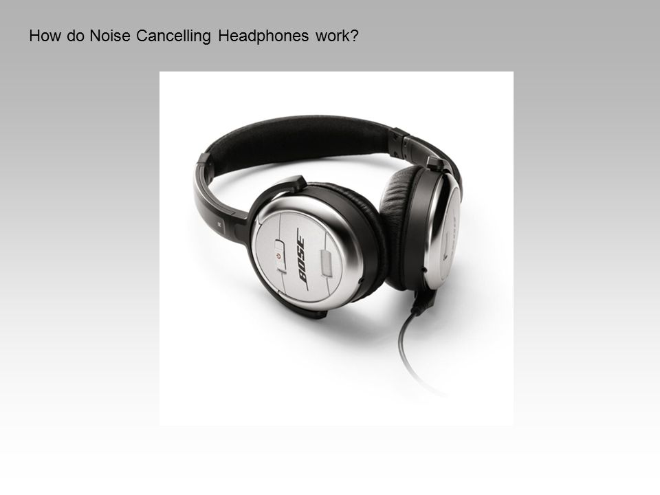 How do Noise Cancelling Headphones work