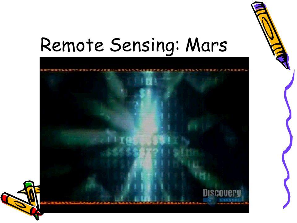 Remote Sensing: Mars