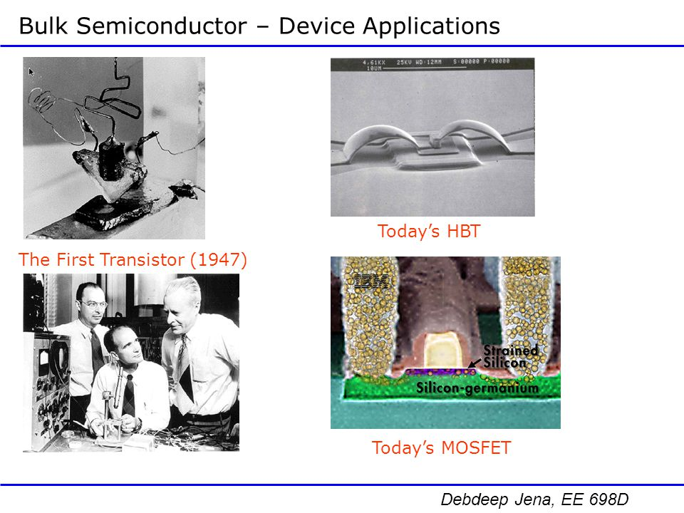 Bulk Semiconductor – Device Applications