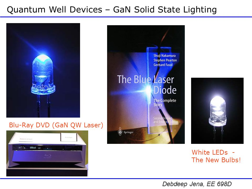 Quantum Well Devices – GaN Solid State Lighting