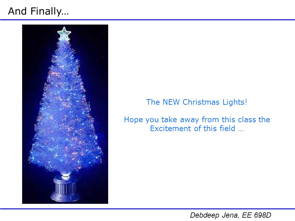 And Finally… The NEW Christmas Lights!
