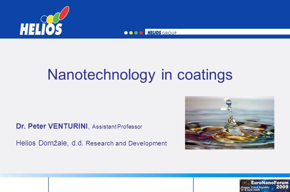 Nanotechnology in coatings