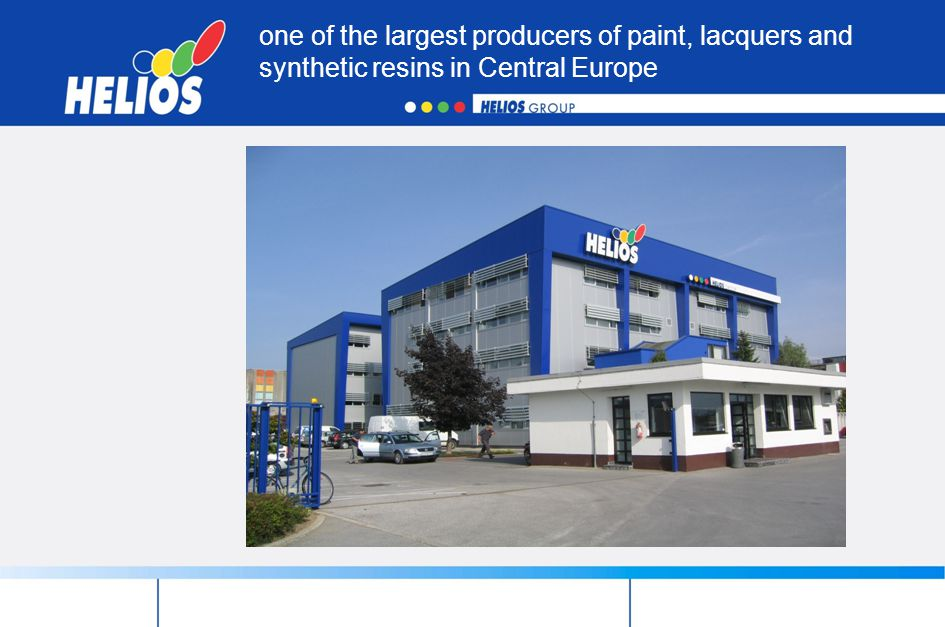 one of the largest producers of paint, lacquers and synthetic resins in Central Europe
