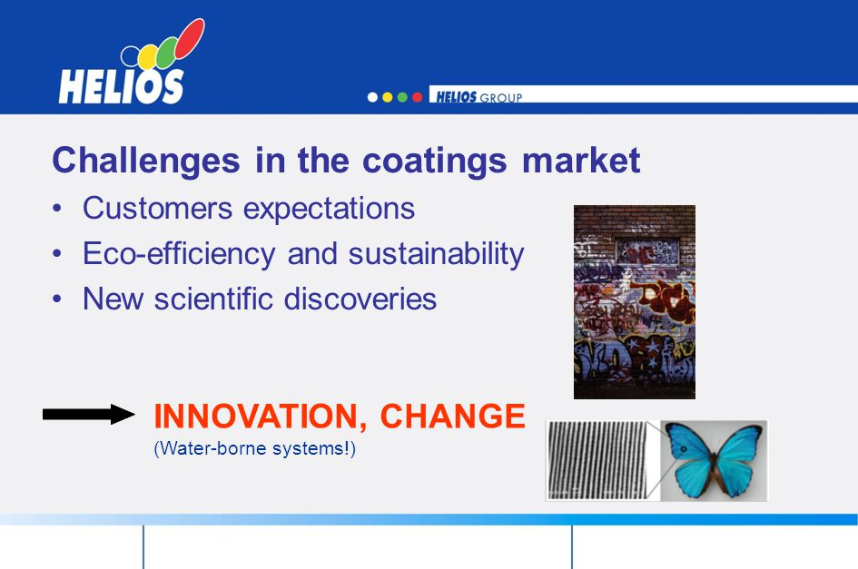 Challenges in the coatings market