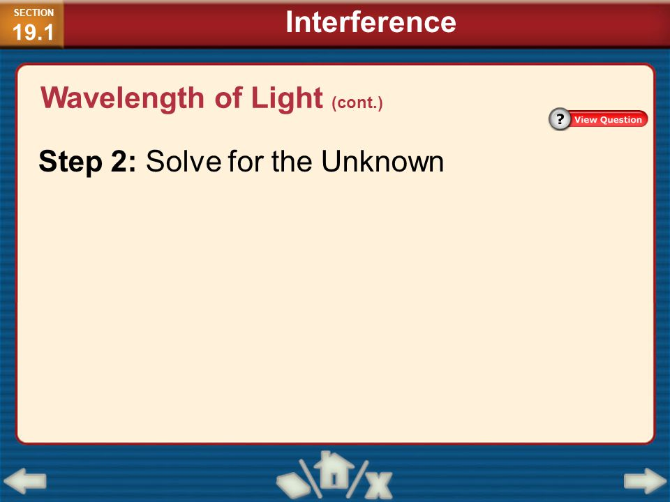 Step 2: Solve for the Unknown