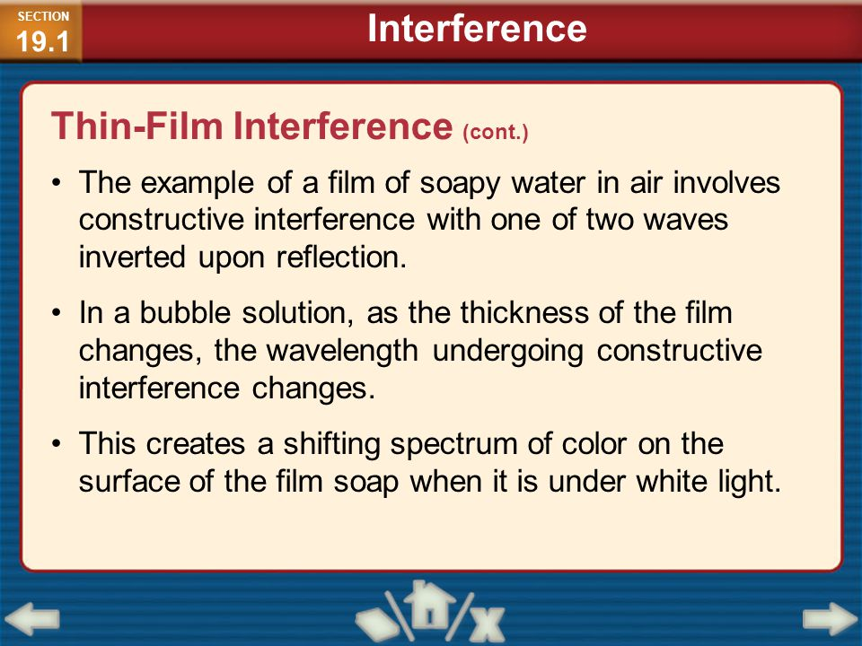Thin-Film Interference (cont.)