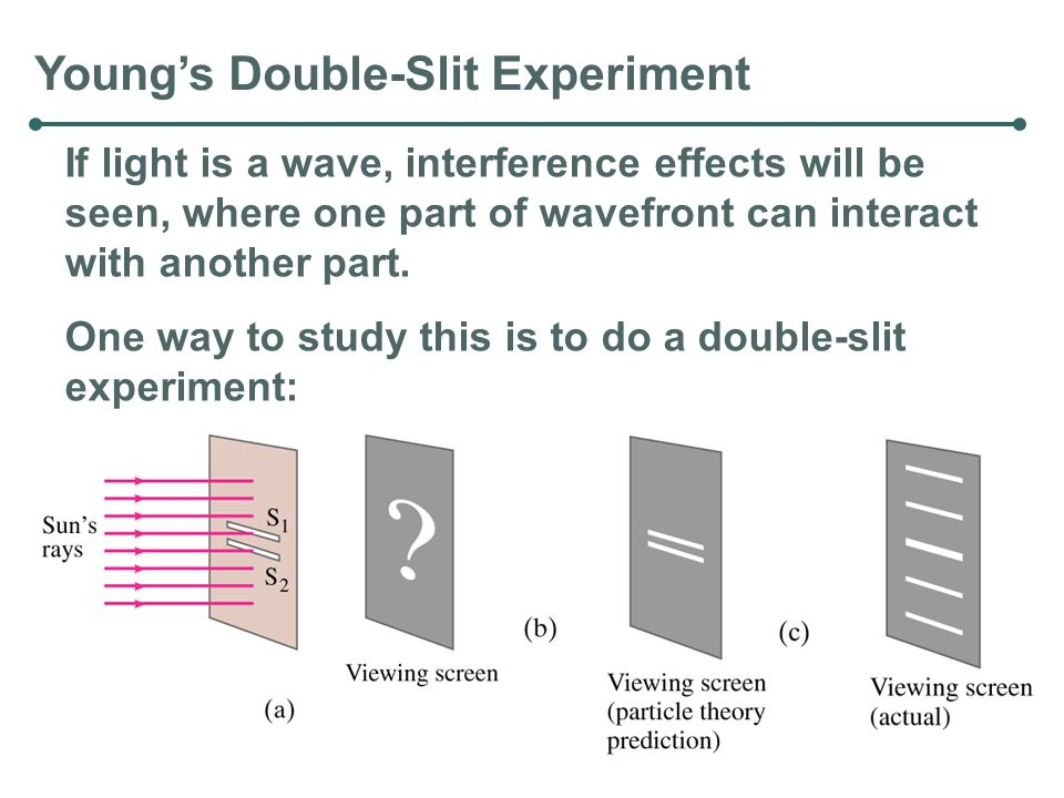 Young's Double-Slit Experiment