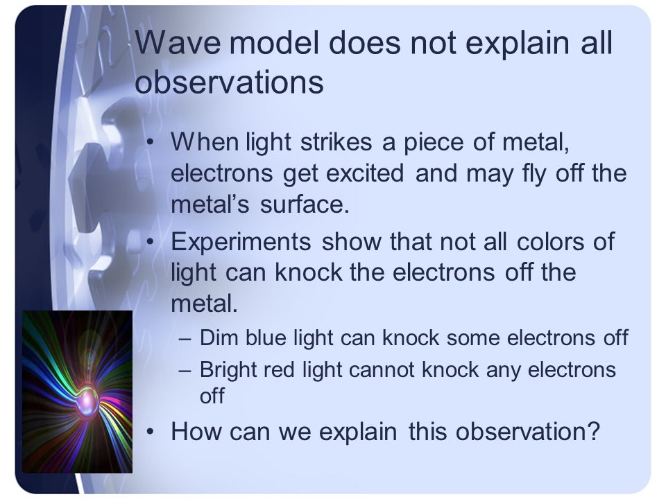 Wave model does not explain all observations