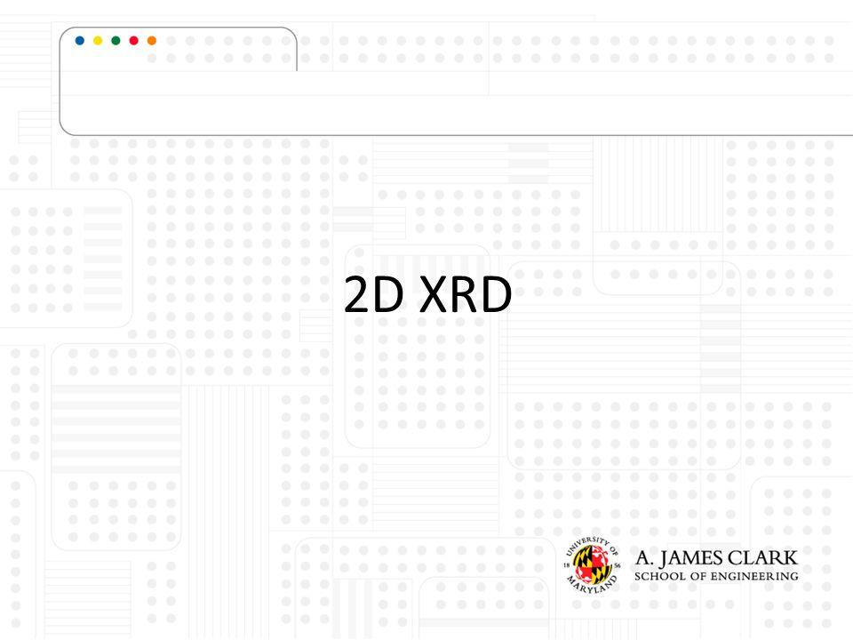 2D XRD