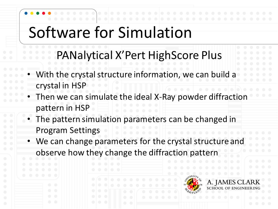 Software for Simulation