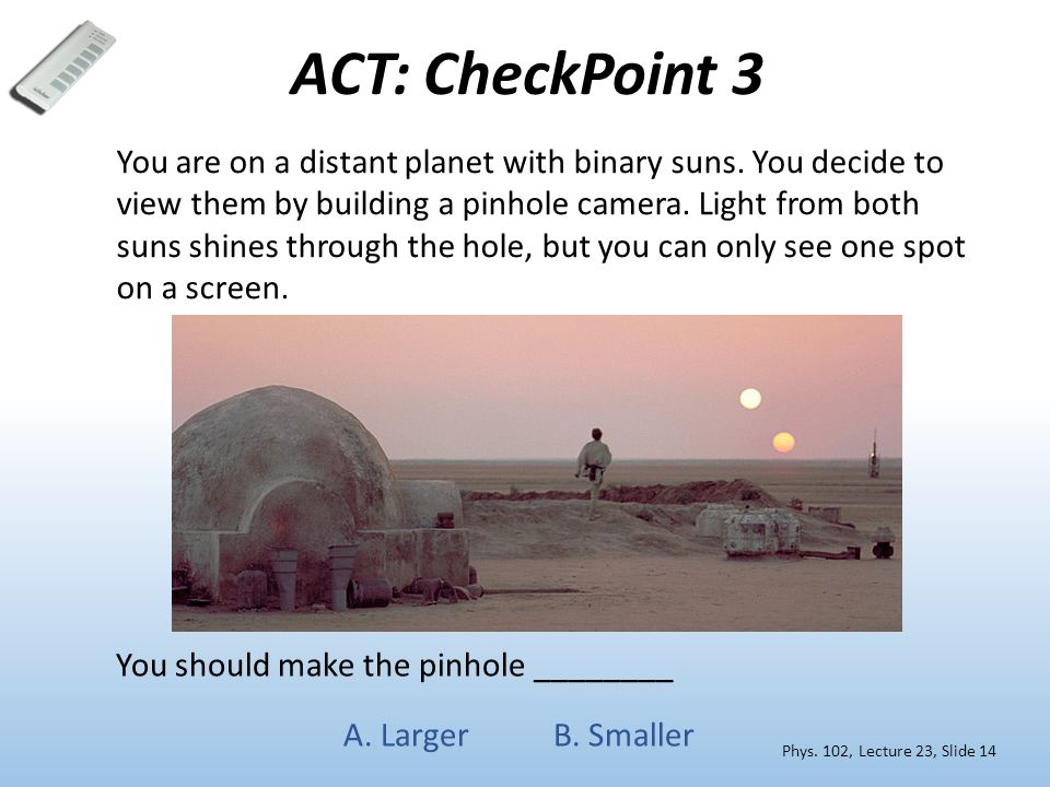 ACT: CheckPoint 3
