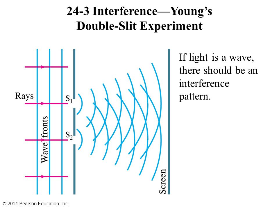24-3 Interference—Young's Double-Slit Experiment
