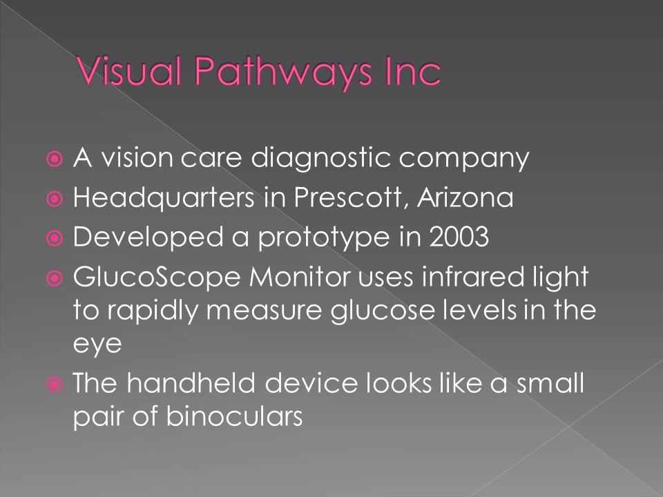 Visual Pathways Inc A vision care diagnostic company