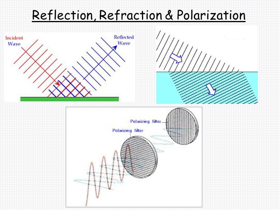 Reflection, Refraction & Polarization