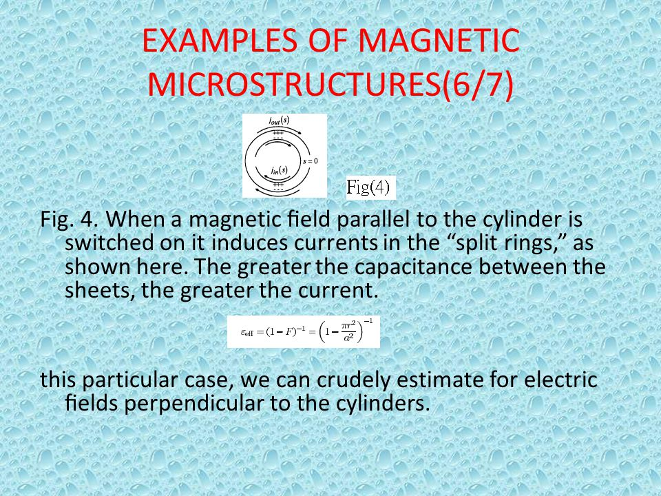 EXAMPLES OF MAGNETIC MICROSTRUCTURES(6/7)