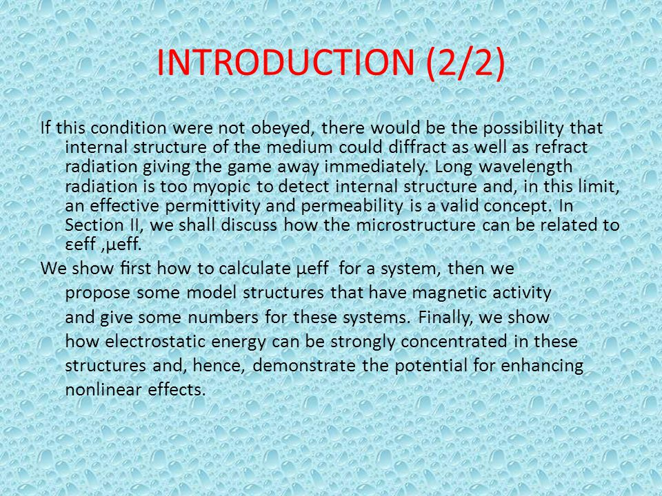 INTRODUCTION (2/2)