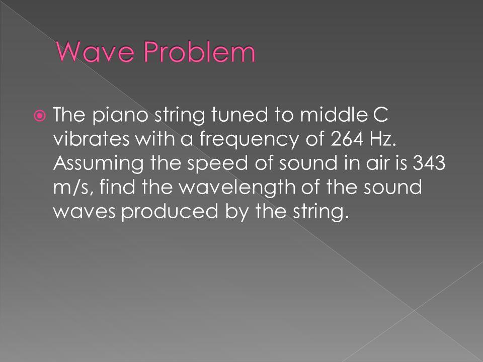 Wave Problem