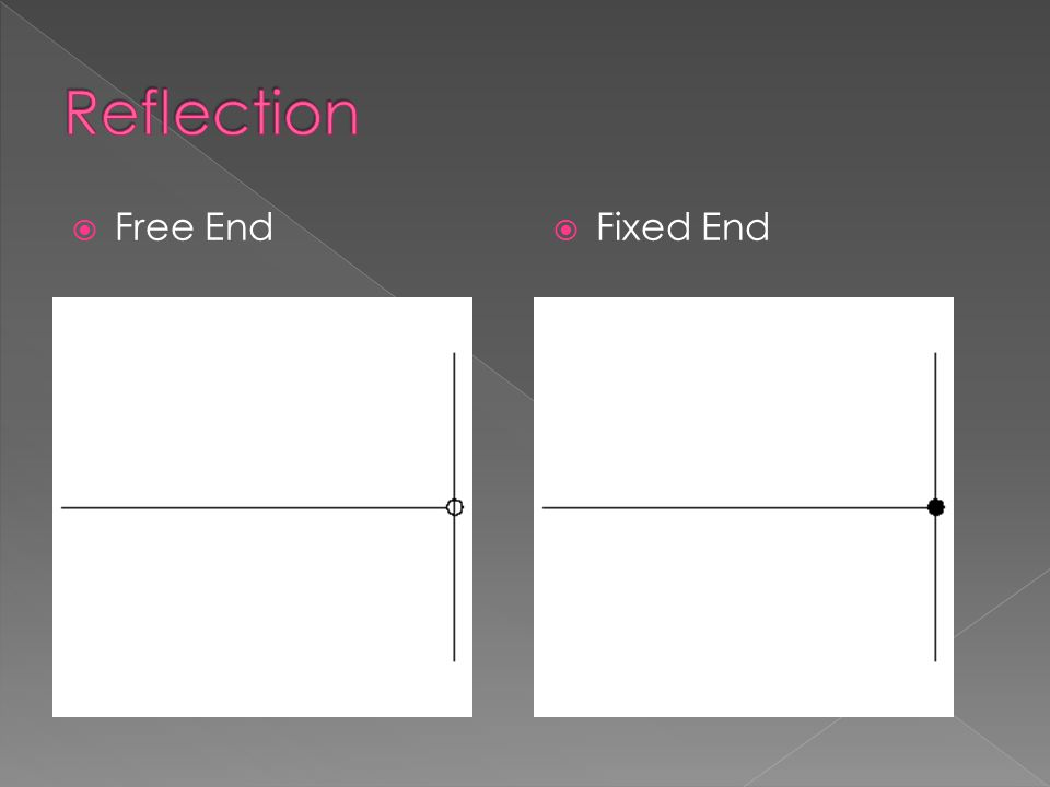 Reflection Free End Fixed End