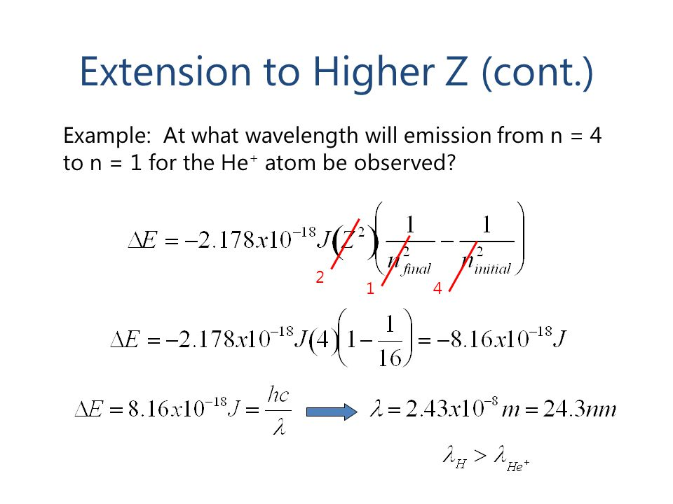 Extension to Higher Z (cont.)