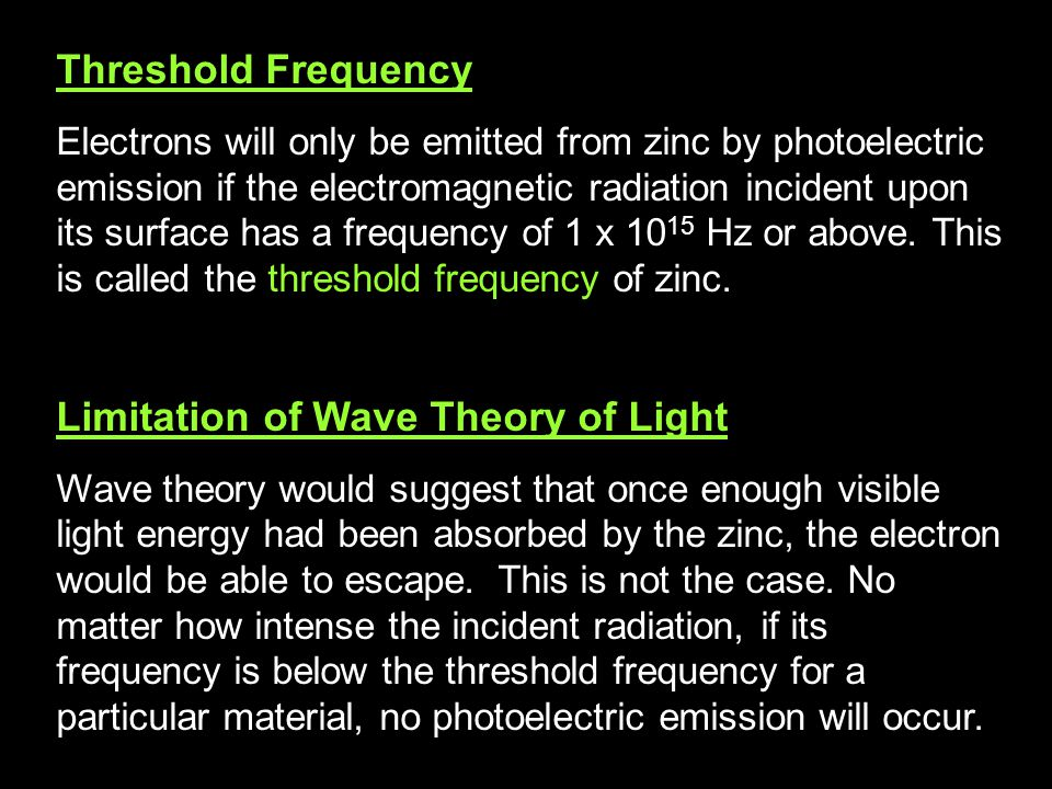 Limitation of Wave Theory of Light