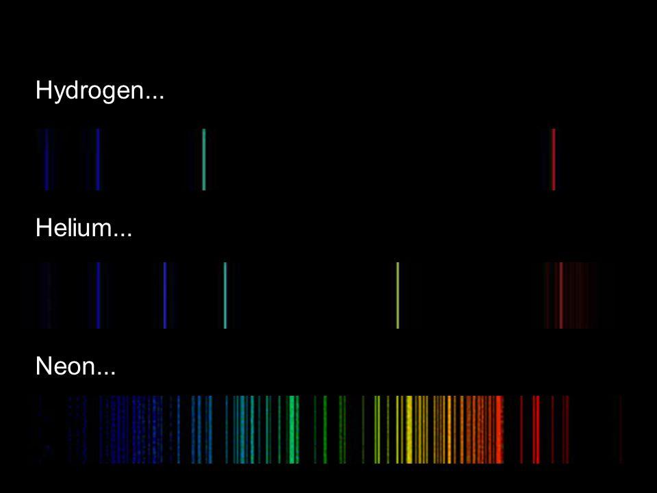 Hydrogen... Helium... Neon...